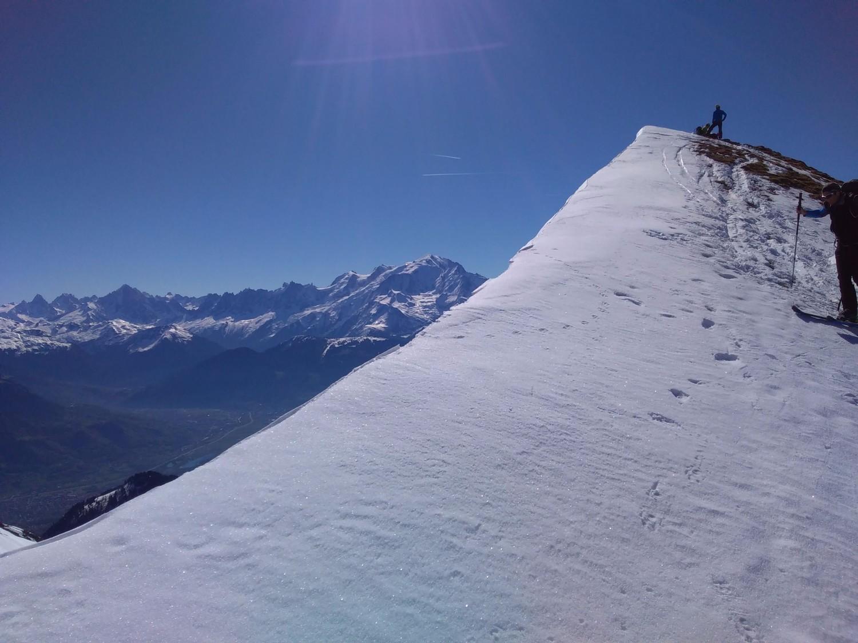 Sans oublier le Mont Blanc