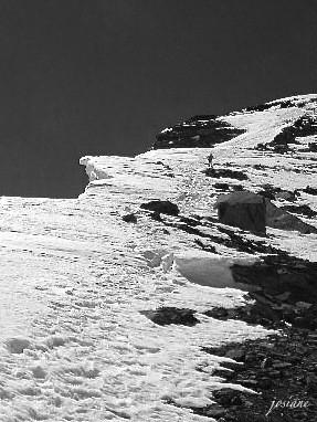 Descente du sommet