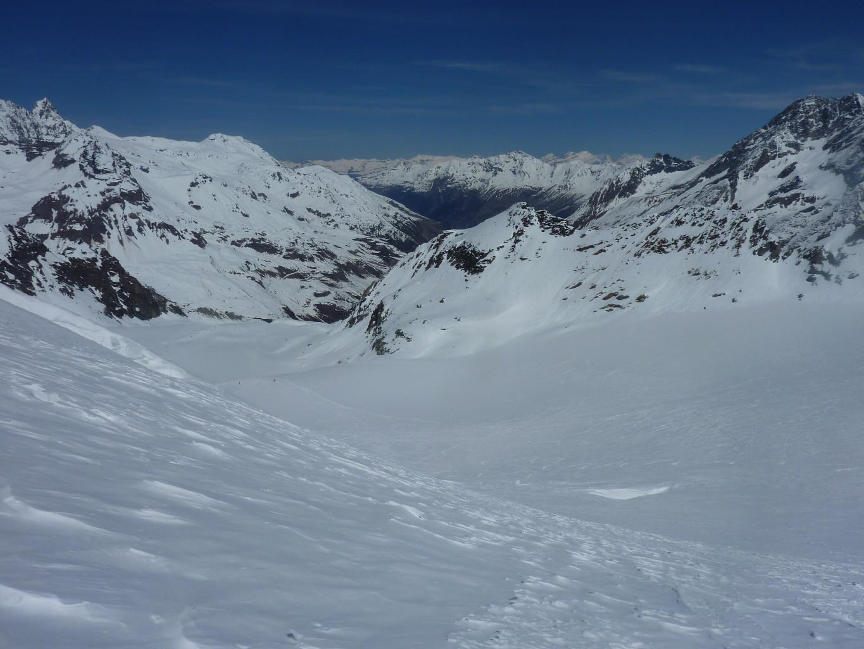 Glacier de Pièce, au dessus d'Arolla