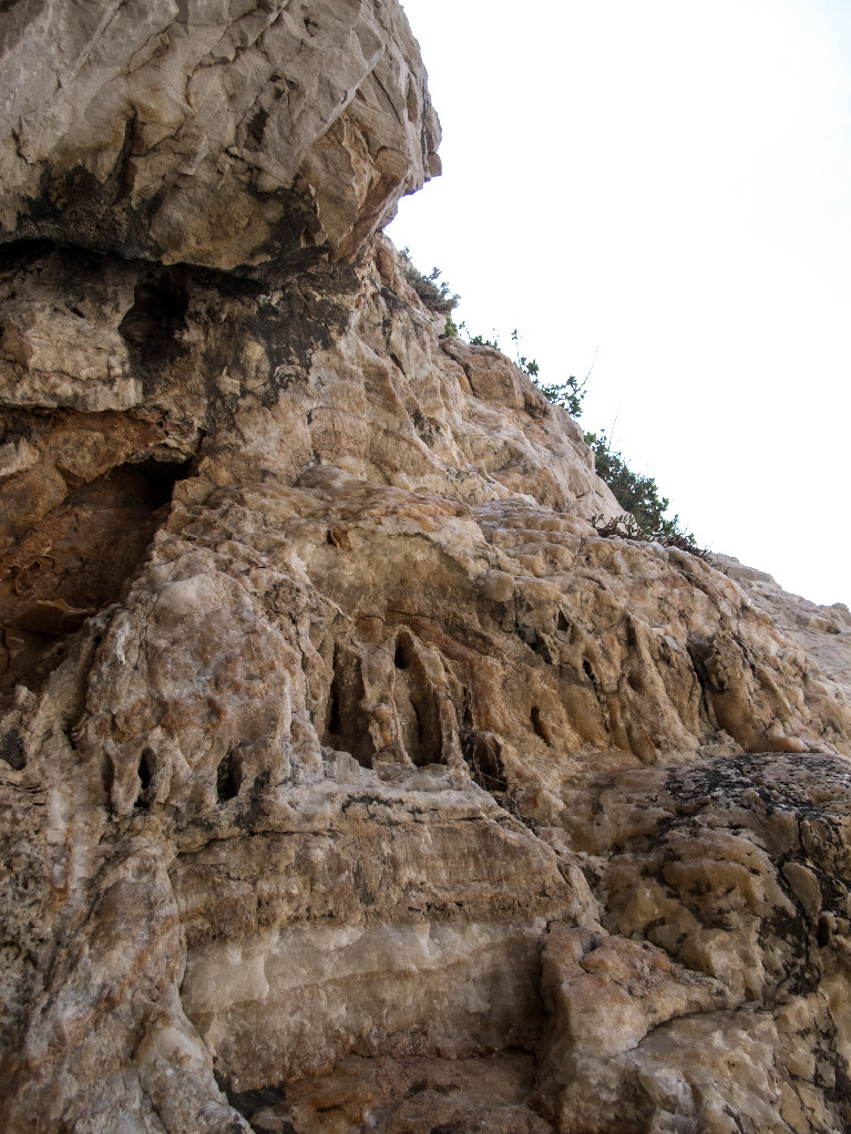 Le rocher...