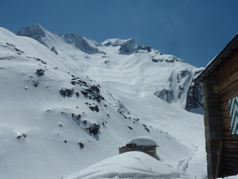 Piz Giuv depuis Etzlihütte