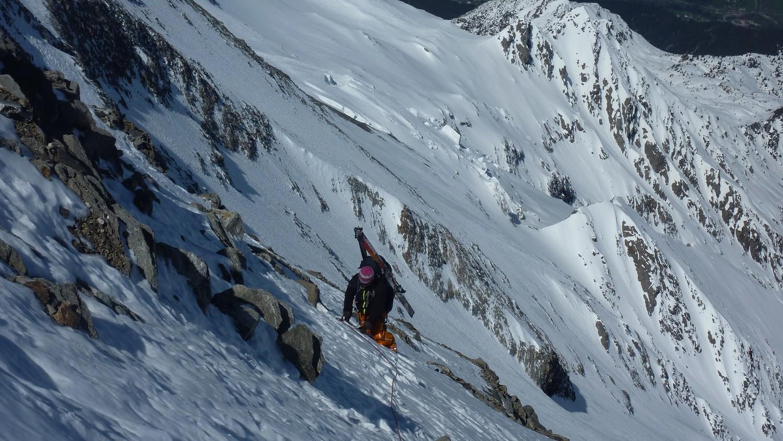100m avant le sommet