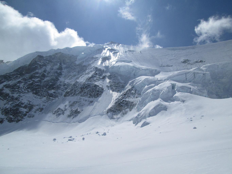 Zinalrothorn, versante Nord