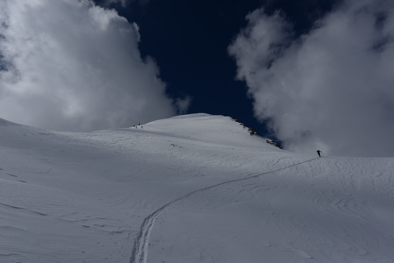 Verso la cima del Gletscherhorn
