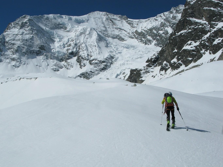 Salita lungo il Glacier de Zinal