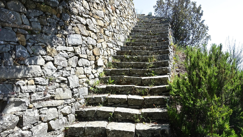 Escalier grand confort