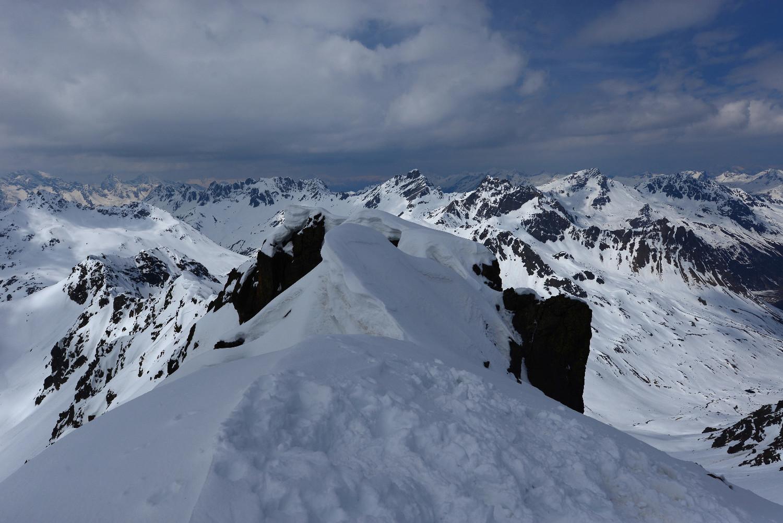 Sulla cima del Chüealphorn 3077m