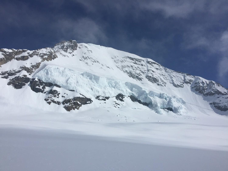 Mönch au départ du Jungfraujoch