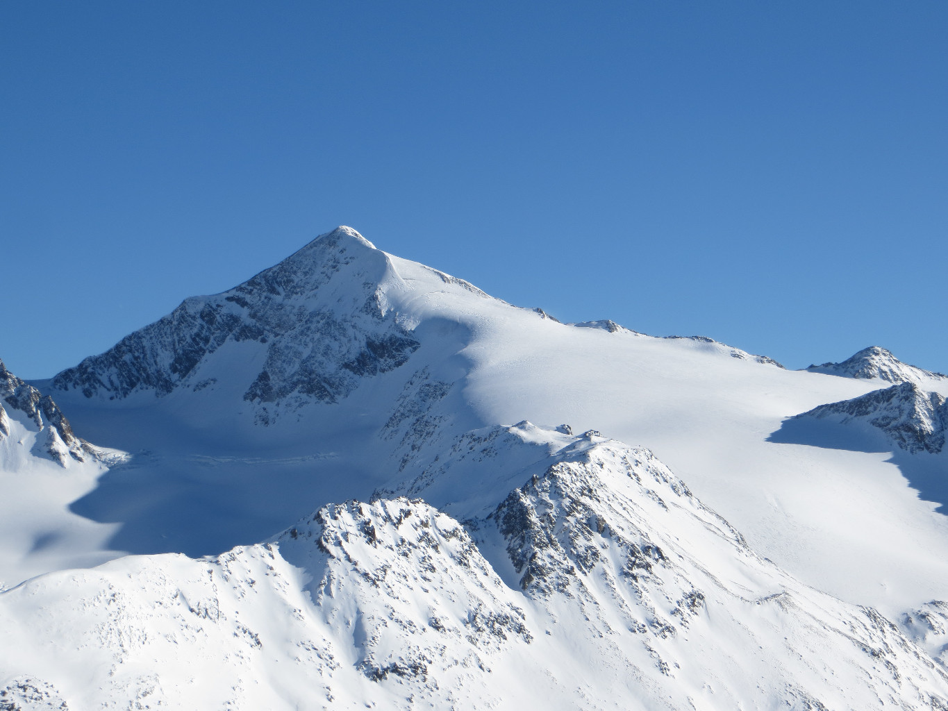 Similaun: North and West face