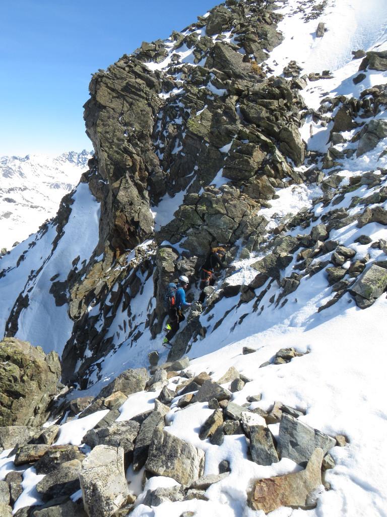Piz Buin NW ridge