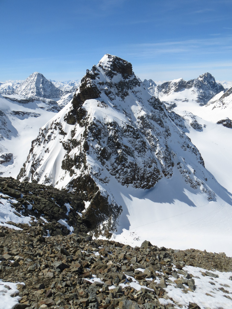 Kleine Piz Buin and Piz Linard (background left)