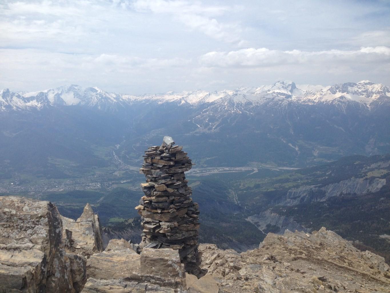 L'Ubaye vue du Col de la Pare