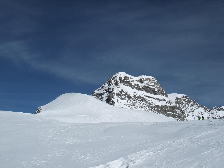 sommet du Louwihorn (devant le Rottalhorn)