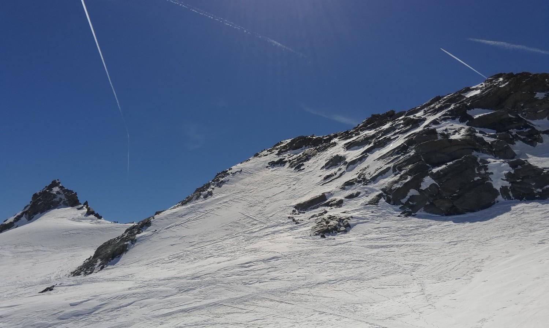 Ca passe en mixte à droite poru éviter la neige pas stabilisée