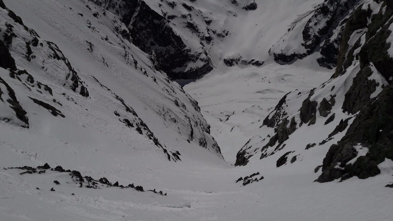 Le couloir S du Col de la Grande Sagne