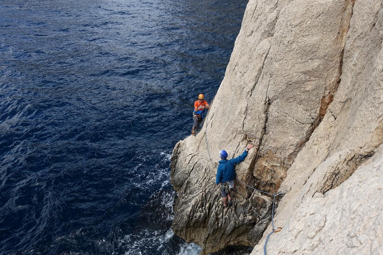 On ne fait pas de la grimpe comme ça tous les jours dans les Pyrénées
