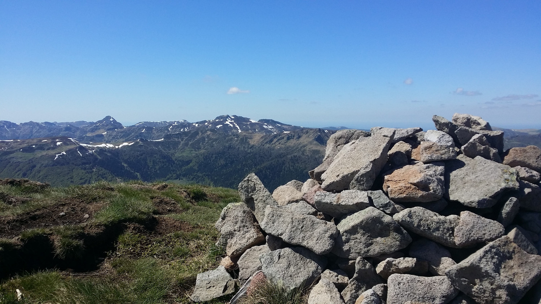 Vue depuis le Puy du Rocher 1813 m