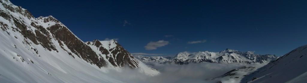 Ner de nuage en Haute Maurienne.