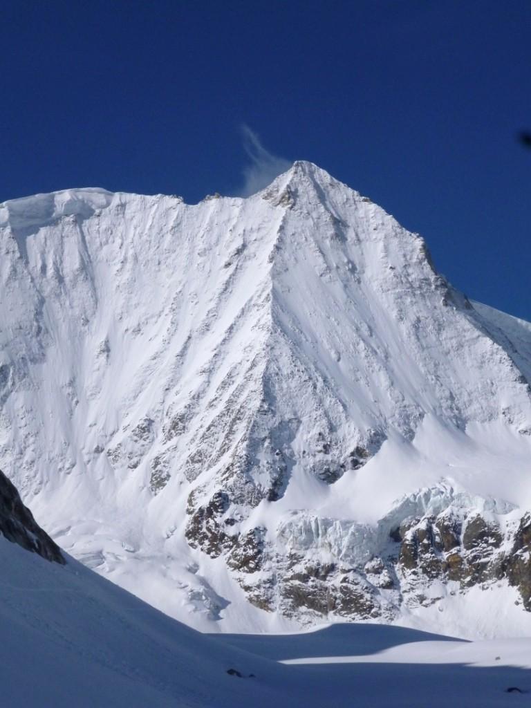 Mt Blanc de Cheilon, faces ENE et N