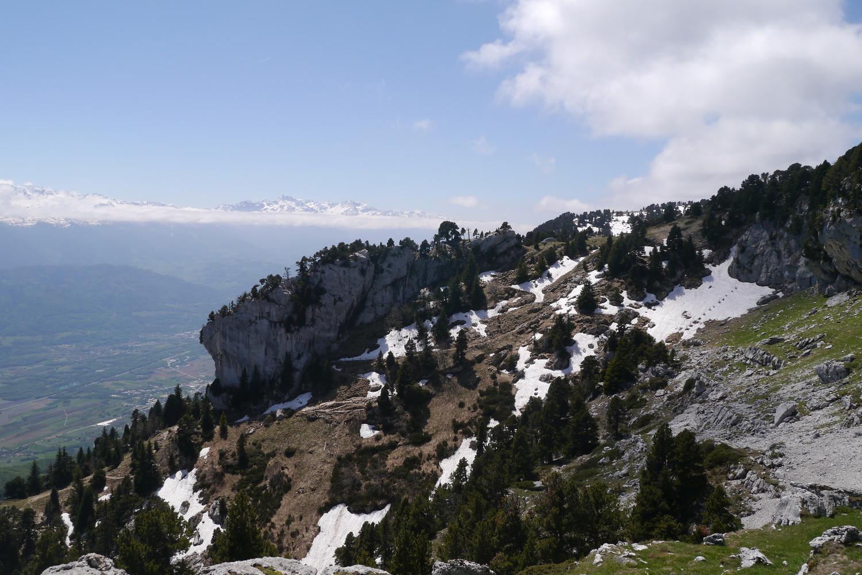 Haut du col de l'Alpe