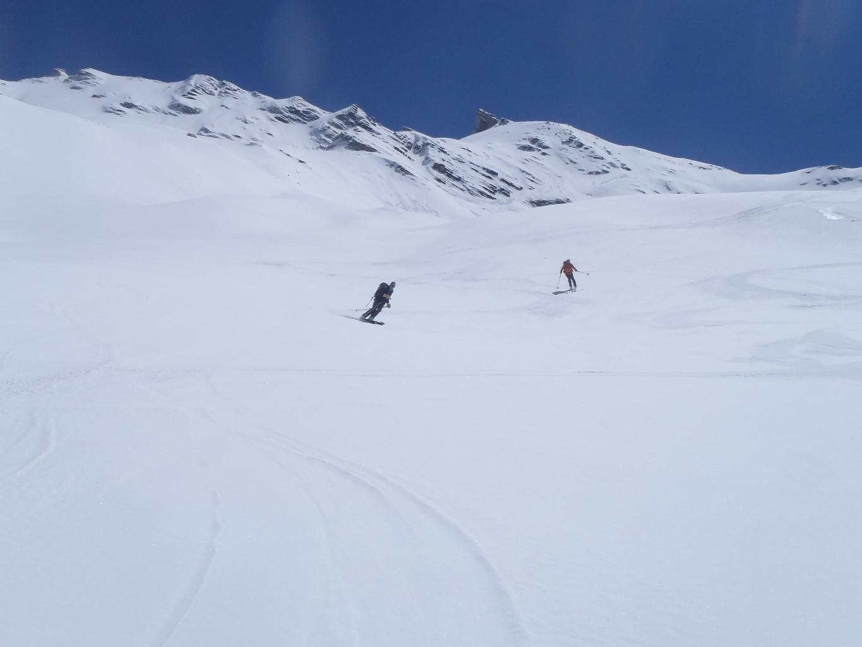 Decente du glacier de Giasson