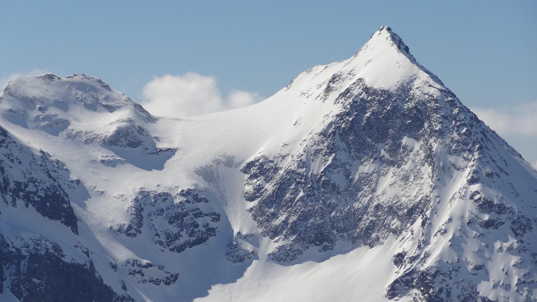 Vue depuis le col du Mont Brûlé