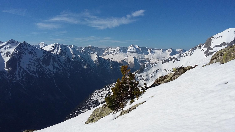 Juste apres avoir chaussé les skis