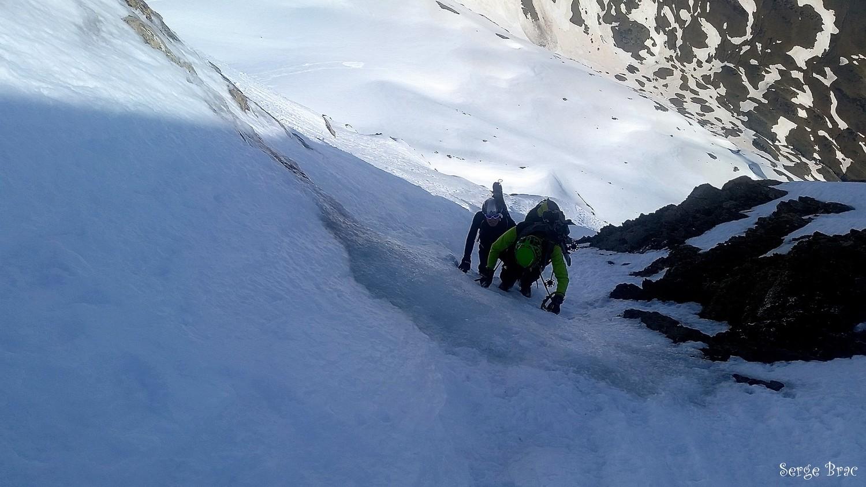 Le troisième et dernier passage en glace