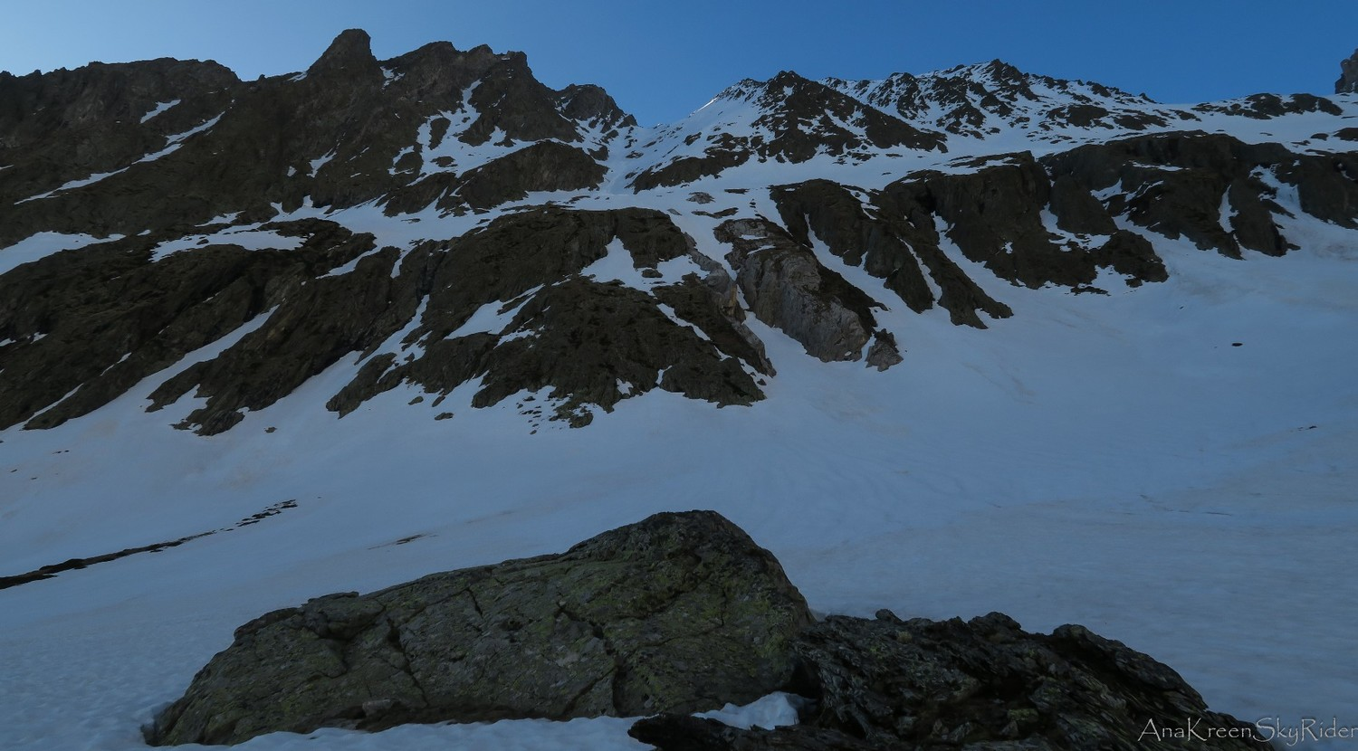 conditions couloirs pic Méchant