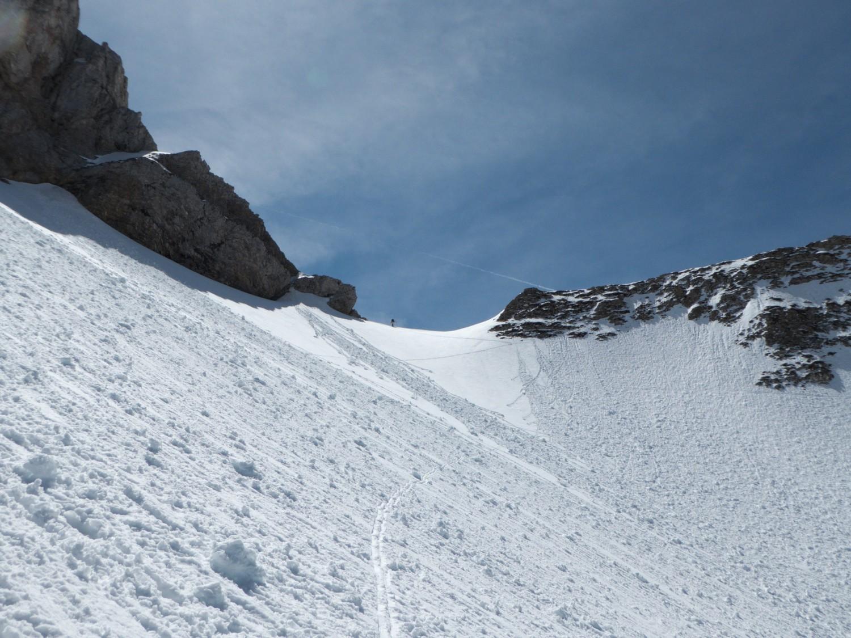 Col du Rasoir, versant nord