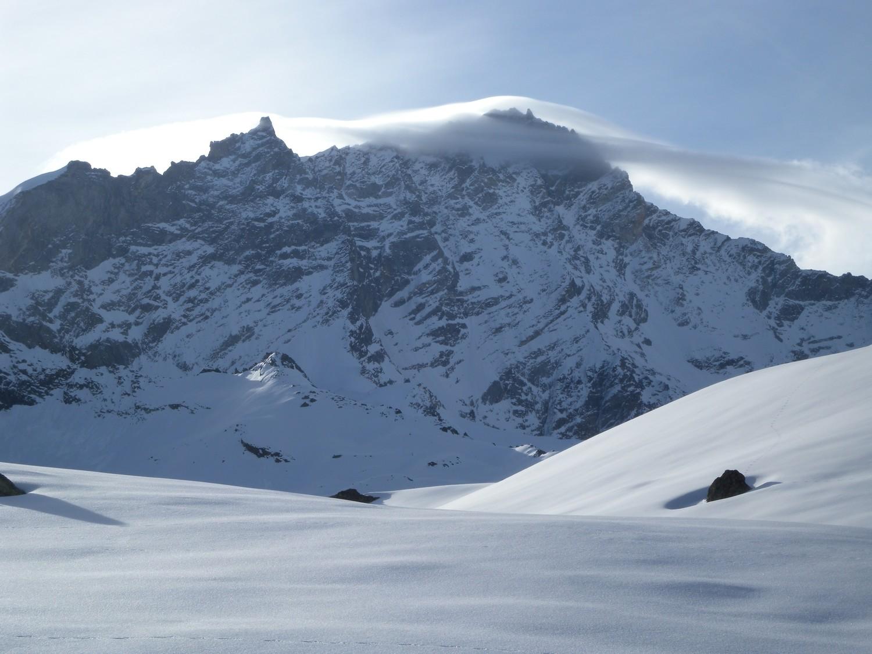 Nuvola lenticolare sul Weisshorn