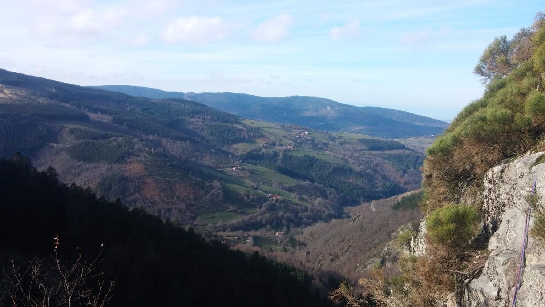 Mont du Pilat depuis le haut de L3