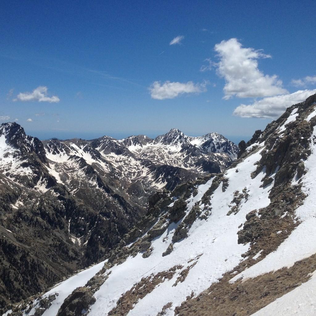 La Cime du Diable (2685m) et le Mont Capelet Supérieur (2637m)
