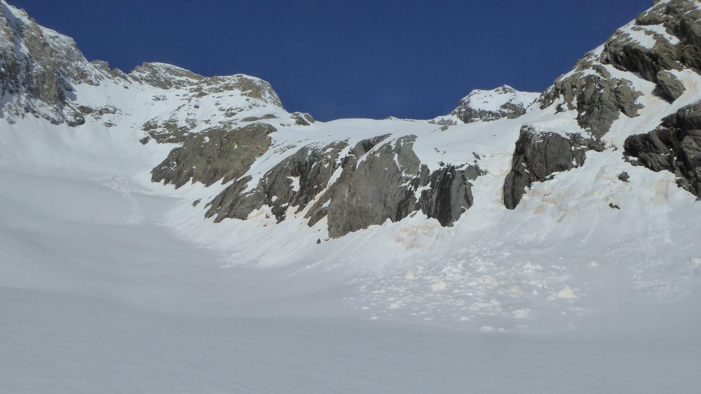 Front du glacier des Rouies