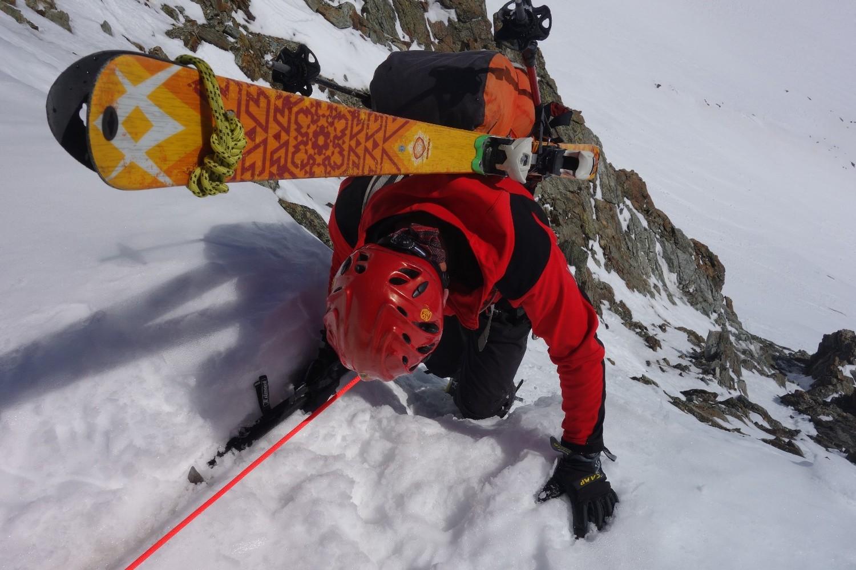 20 mai 2016, Traversée Arolla-col du Mont Brulé-col de la Division-refuge Aosta