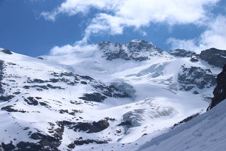 panoramica ghiacciaio