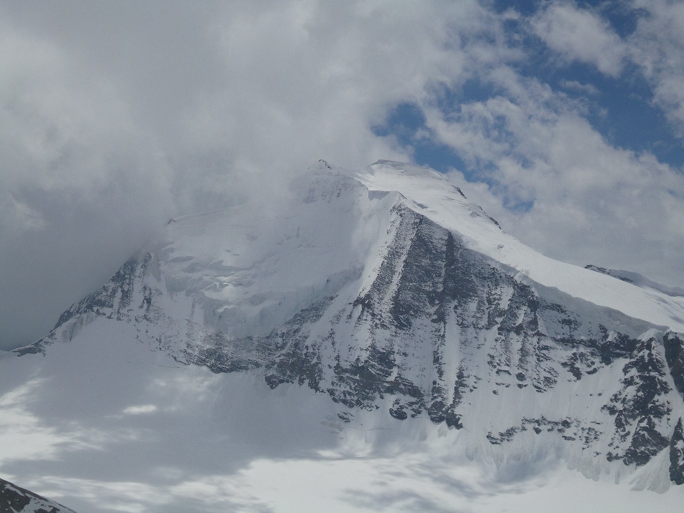 Face N du Bishorn pas en condition