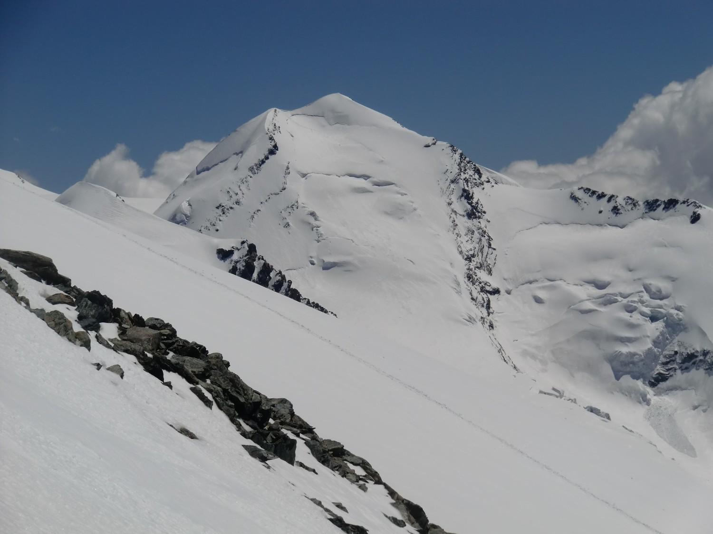 Le Castor, en allant au refuge Val d'Ayas