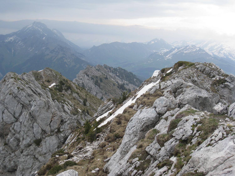 la ligne des crêtes Suet-Mt Lachat