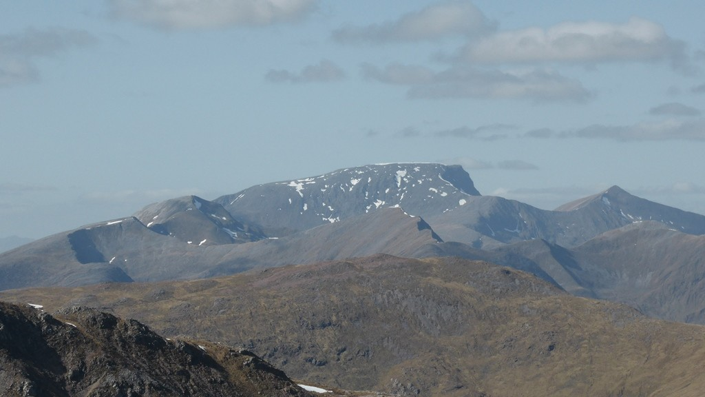 Ben Nevis vu du Buachaille Etive Mor.