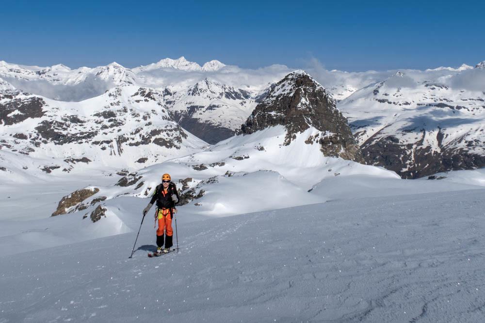 Glacier du Grand Méan, devant le Mont Séti