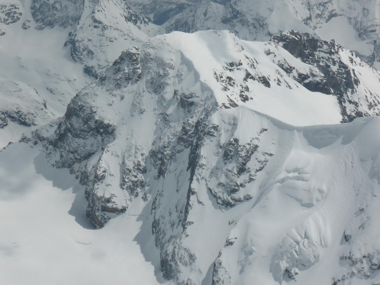 La N du Mont Brûlé vue du ciel