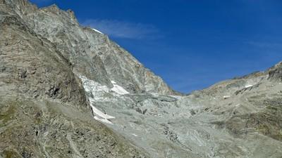 Col d'Oren et glacier du Haut d'Oren