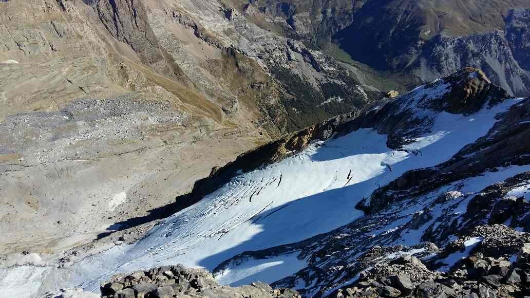 Face N Mt Perdu et son glacier