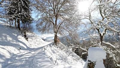 Départ du  Lintre en hiver