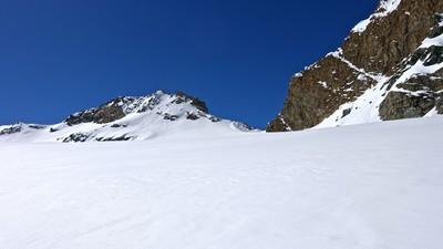 Le Col de l'Aouille et le Mont Tout Blanc / Taou Blanc