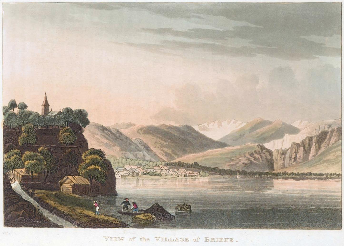 Brienz, Lac de Brienz, par G . Lory
