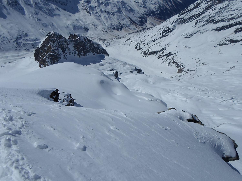 La Jegital dal deposito sci al Grosshorn.