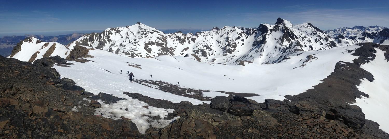 Panorama vers le Nord depuis le sommet