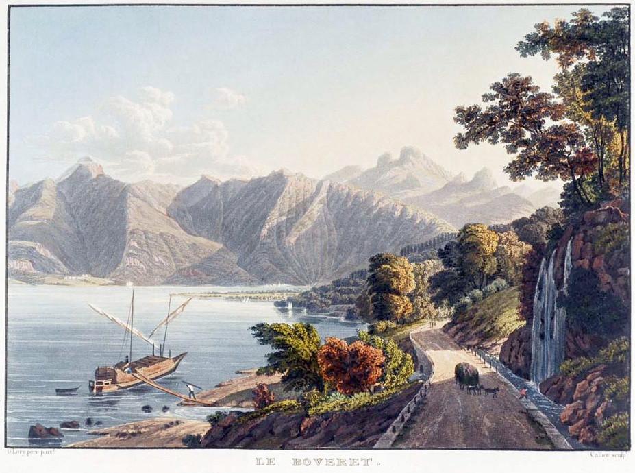 Léman et alpes vaudoises, par G. Lory